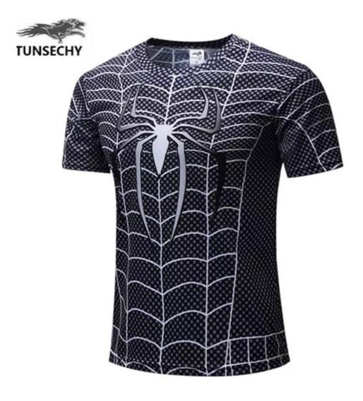 Playera Superheroes Spiderman Marvel Avenger End Game