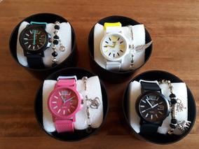 Relógio adidas Colors +pulseira +caixa P/ Presente