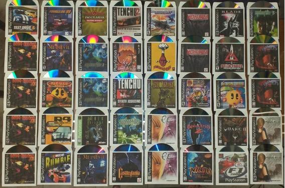 Kit 20 Jogos Patch Ps1 Playstation 1 Ps One À Sua Escolha