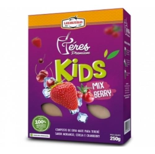 Erva Mate Tereré P/crianças Mix Berry Kids 250g