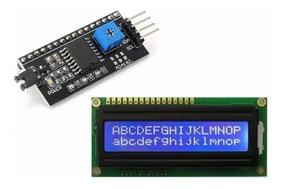 Display Lcd 16x2 Azul + Modulo I2c Pic Arduino