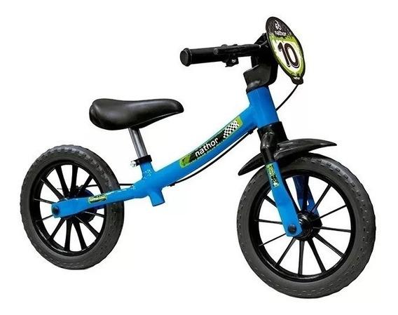 Bicicleta Aro 12 Infantil Equilibrio Nathor Sem Pedal