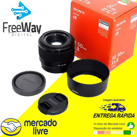 Lente Sony Fe 50mm F/1.8 E-mount Sel50f18f Caixa