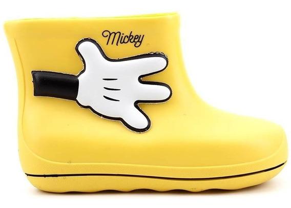 Galocha Disney Mickey Grendene 21987 Amarelo Loja Pixolé