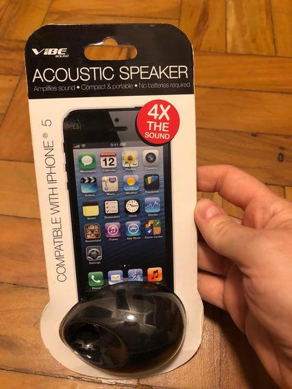 Amplificador De Som Para iPhone 5