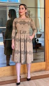 Vestido Mid Feminino Mda Evangélica Envio Rápido Out Inv 19