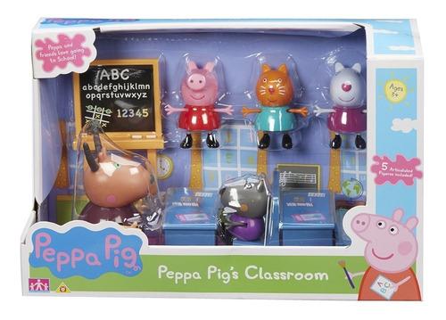 Peppa Pig Va A Clase De La Escuela Int 05033 La Cerdita
