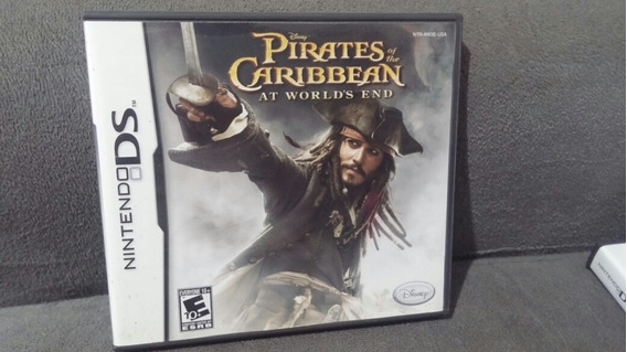 Piratas Do Caribe At Worlds End Nintendo Ds Original Complet