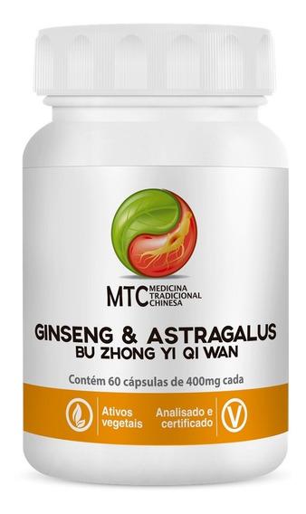 Ginseng & Astragalus (bu Zhong Yi Qi Wan ) 400mg 60 Caps Mtc