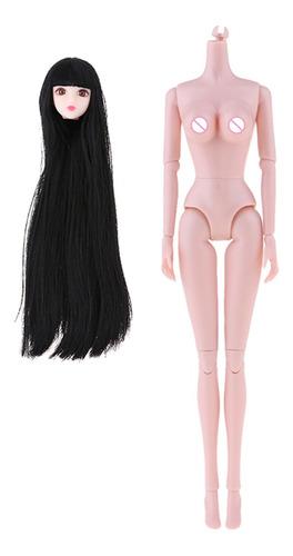 Imagen 1 de 6 de 1/6 Bjd Doll Nude Partes Del Cuerpo Y Busto Grande Y Cabeza