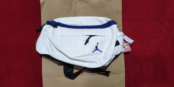 Riñonera Crossbody Jordan Retro White Unicas - En Stock