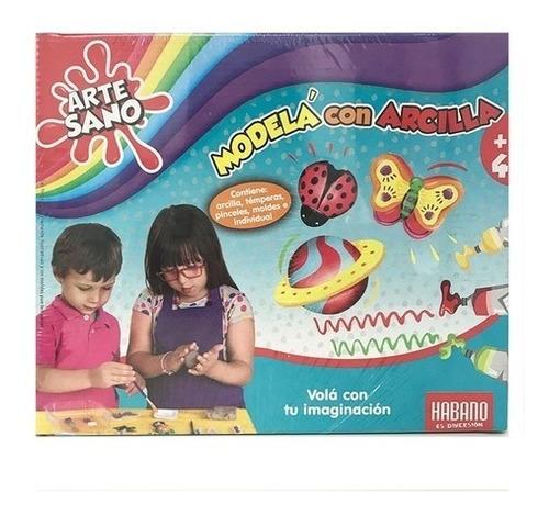 Imagen 1 de 4 de Juego Modela Con Arcilla Fabrica Artesano Arte Habano 7102