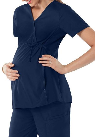 Conjunto Uniforme Quirúrgico Maternidad Tela Spandex