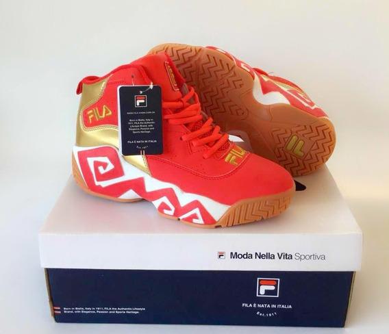 Tênis Fila Mb Shoes Importado Conforto Basquete Esporte
