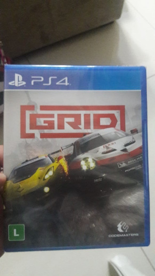 Grid Ps4 - Lacrado - A Pronta Entrega - Playstation