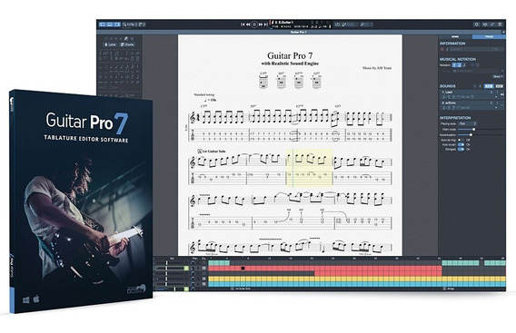 Guitar Pro 7 (7.5) Ativado+soundbanks+60 Mil Tabs (win)