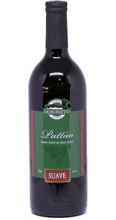 Vinho Tinto Suave Isabel/bordô 750ml - Don Patto