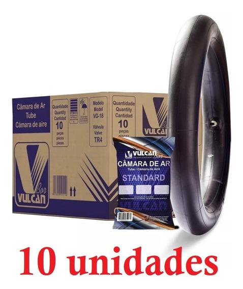 10x Câmara De Ar Aro 18 Moto Yamaha Ybr Factor 125 90/90-18
