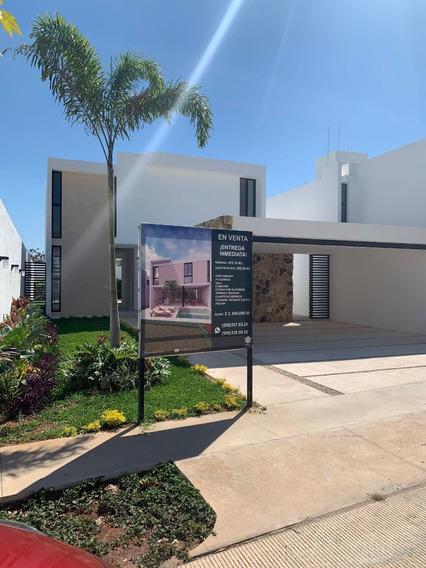 Casa Nueva En Venta En Mérida Privada Arborea Conkal Lote 120