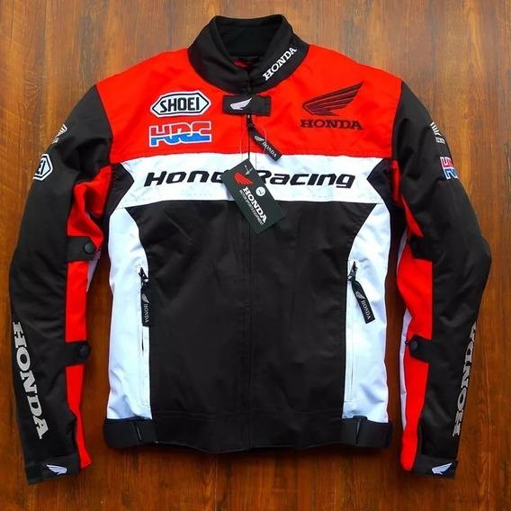 Conjunto Jaqueta E Calça De Proteção Honda Motociclismo