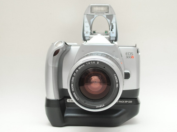 Canon Eos 300v C/ Lente + Grip C/ Defeito = Nikon Sony Rebel