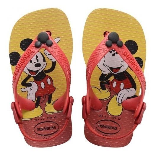 Chinelo Infantil Menino Havaianas Disney Classics