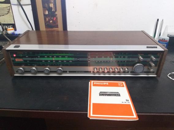 Receiver Sintonizador Philips Rh 716 Exc Estado C/ Manual