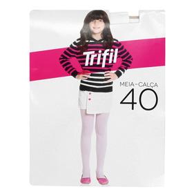 a857d1def Meia-calça Opaca Infantil Fio 40 Trifil - Branco