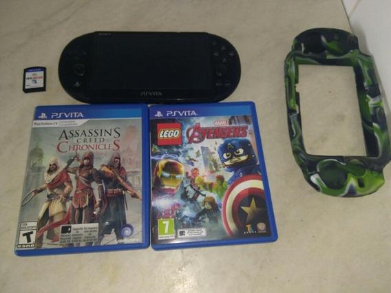 Troca Ps Vita Com Mais 2 Jogo Ps 3 Por Xbox 360 E Vendo