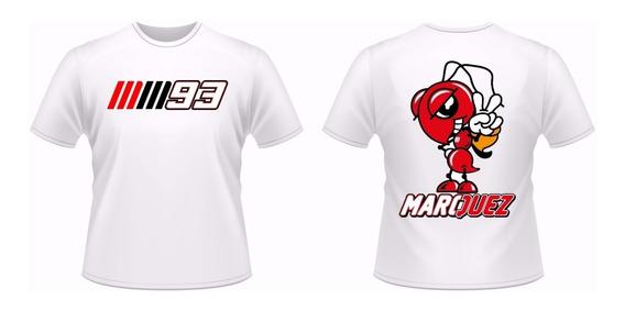 Camisa Personalizad Marc Marquez Moto Gp 93 + Adesivo D/brin