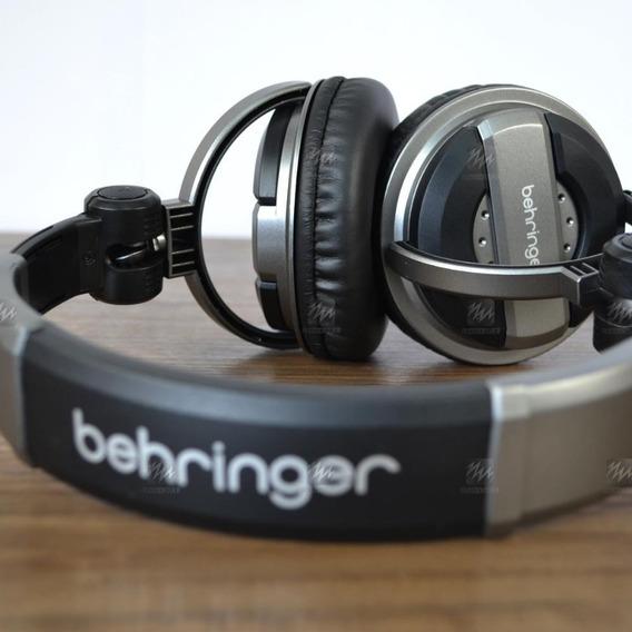 Fone De Ouvido Over-ear Behringer Bdj 1000 + Adaptador P10