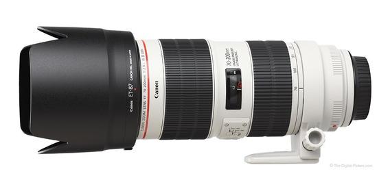 Nova Lente Canon 70-200mm F/2.8 Is Iii Usm C/ Nf-e Gar. 1ano