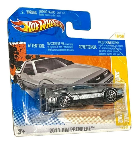 Hot Wheels Delorean Back To The Future Time Machine 2011 Tc