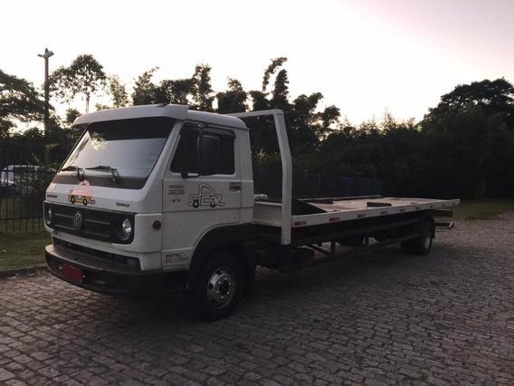Vw 10.160 2014 Caminhão Guincho Reboque Plataforma