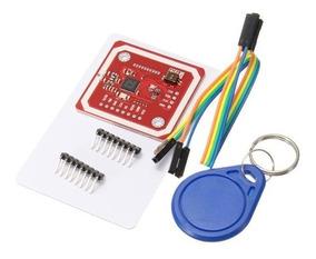 Kit Leitor Rfid Pn532 Cartão Tag Nfc 13.56mhz Arduino