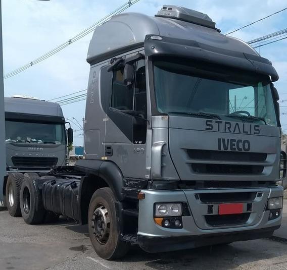 Iveco Stralis Ano 2008 420 Traçado 6x4 -sem Garantia-repasse