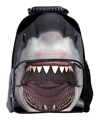 Mochilas Escolares Para Niños De Tiburon 4 5 Anos Baby Shark 3D Mochila De Felpa