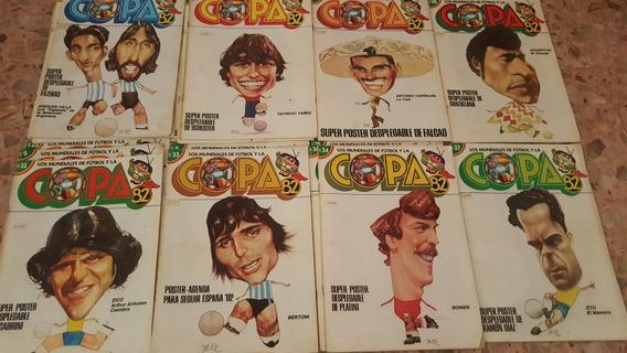 Los Mundiales De Fútbol Y La Copa 82 (33 Revistas) C /poster