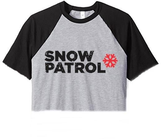 Remera Corta Snow Patrol Pupera Top Ranglan 2