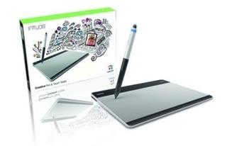 Wacom Intuos Pen Touch Medium Cth 680/s Tabletas Digitales