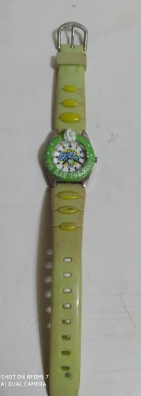 Reloj Pulcera Vintage Clever Kids Japonés Para Niños