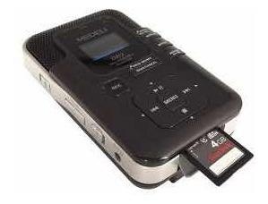Digital Voice Recorder Prof. C/4 Mics Medeli Dr2 Gravador