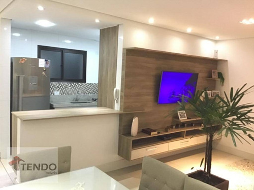Imagem 1 de 19 de Imob01 - Apartamento 69 M² - Venda - 2 Dormitórios - Nova Petrópolis - São Bernardo Do Campo/sp - Ap2645