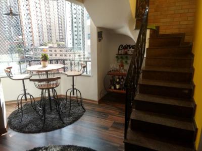 Cobertura Com 3 Dormitórios À Venda, 140 M² Por R$ 1.150.000 - Vila Regente Feijó - São Paulo/sp - Co0243