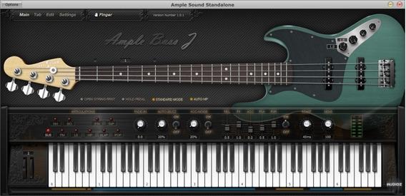 Ample Bass J2 (baixo, Vst, Vsti)