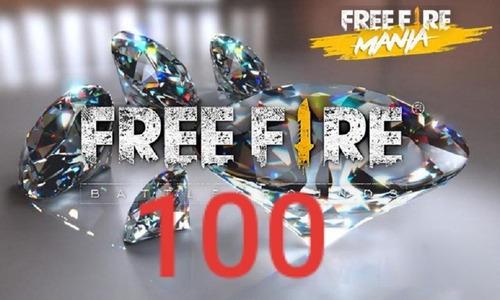 100 Diamantes Free Fire Y Más