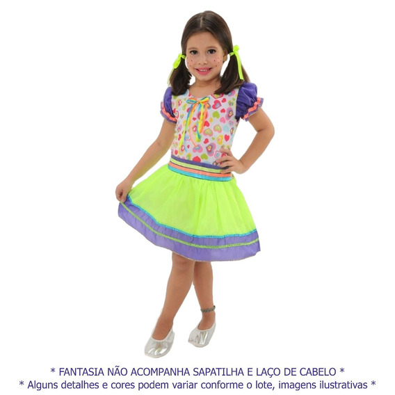 Vestido Junino Infantil Quadrilha Festa São João