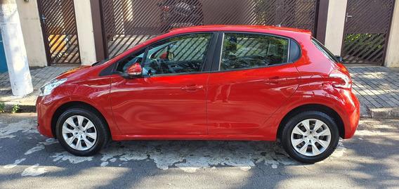 Peugeot 208 Vermelho 1.5 Flex 2014 - Único Dono