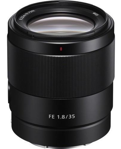 Lente Sony Fe 35mm F/1.8 Fullframe - Lacrada Com Nota