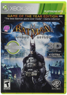 Batman Arkham Asylum Xbox 360 Game Of The Year